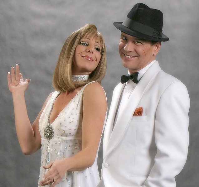 THE CONCERT THAT NEVER WAS:  See fantasy tribute show Barbra & Frank at the Clark Center on June 25, creating a concert that might have been. - PHOTO COURTESY OF BARBRA & FRANK