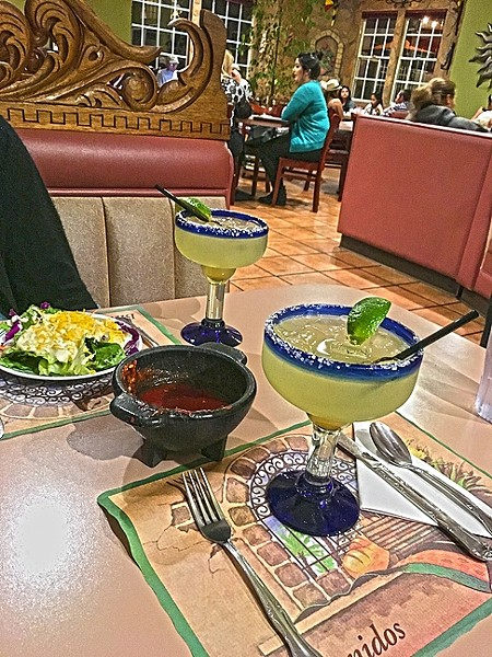 FORGET THE MIXER:  With famliy recipies dating back 50 years, Las Cazuelas in Nipomo is about as old-school Mexican cool as you can get on the Central Coast. They offer up more than 60 awesome tequilas, and on Tuesday night you can get your hands on a cadillac margarita made with lime juice, salted rim, and Hornitos or 1800 tequila for $5. - PHOTO BY REID CAIN