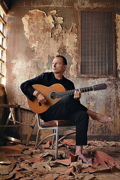 NEW AGE ICON:  Ottmar Liebert will bring his extraordinary instrumental guitar work to Tooth & Nail Winery on Oct. 2. - PHOTO BY ALVAREZ
