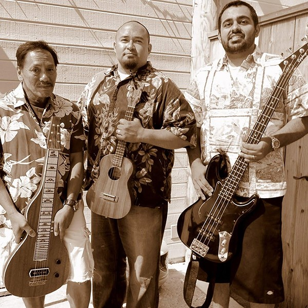 ALOHA!:  Hawaiian act Na Hoa Aloha plays the next Red Barn Community Music Series concert on June 3. - PHOTO COURTESY OF NA HOA ALOHA