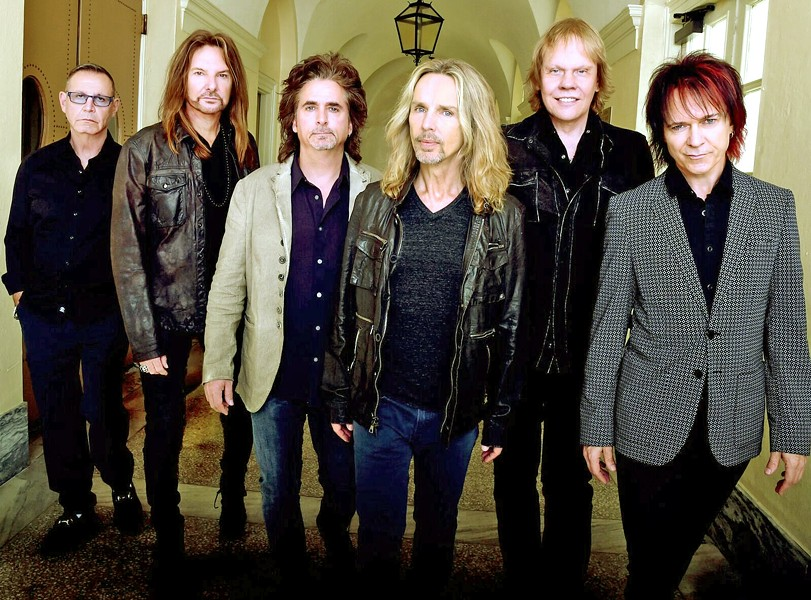 COME SAIL AWAY Styx (pictured) joins REO Speedwagon and former Eagles guitarist Don Felder for a classic rock show on June 25, at Vina Robles Amphitheatre. - PHOTO COURTESY OF STYX