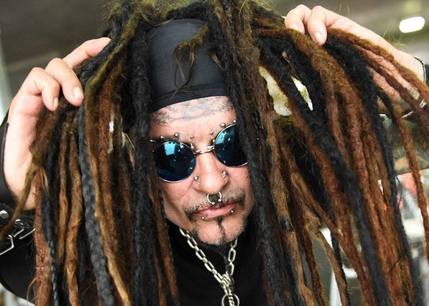 THE GODFATHER Al Jourgensen and Ministry play the Fremont Theater on July 22. - PHOTO COURTESY OF AL JOURGENSEN AND MINISTRY