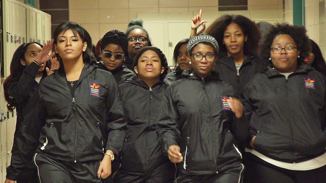 GAME FACES The documentary culminates in a step dance competition against a series of rival schools. - PHOTOS COURTESY OF FOX SEARCHLIGHT PICTURES