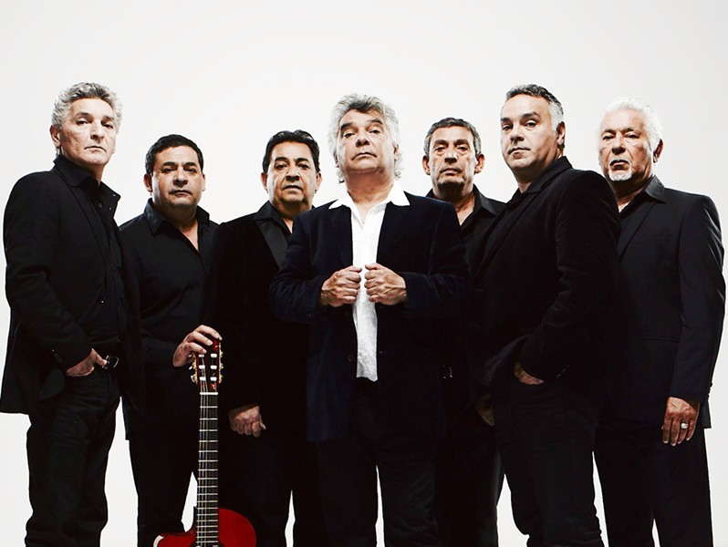 FLAMENCO ROYALTY The Gipsy Kings lay down some serious Spanish guitar strumming and singing at Vina Robles on Saturday, Sept. 9. - PHOTO COURTESY OF GIPSY KINGS