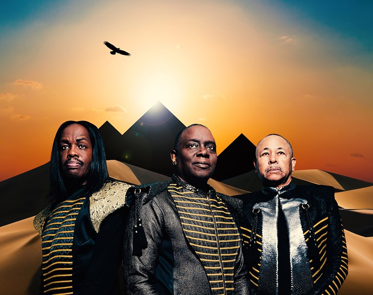 OLD SCHOOL COOL Iconic '70s soul and funk act Earth, Wind & Fire plays Vina Robles Amphitheatre on Sept. 19. - PHOTO COURTESY OF EARTH, WIND & FIRE