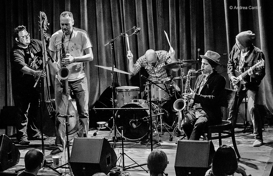 CUTTING EDGE JAZZ The Dave King Trucking Company comes to Cuesta's CPAC on Sept. 16. - PHOTO COURTESY OF ANDREA CANTER
