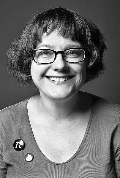 THE DESIGNER Typeface designer Nina Stössinger is based in Brooklyn and teaches typeface at the Yale School of Art. - PHOTO COURTESY OF NINA STÖSSINGER