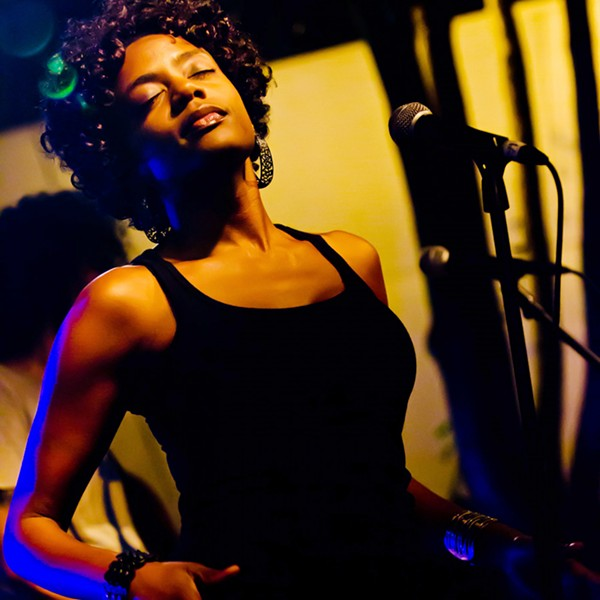 SOULFUL Niki J Crawford with Sure Fire Soul Ensemble plays Oct. 12, at The Siren in Morro Bay. - PHOTO COURTESY OF NIKI J CRAWFORD