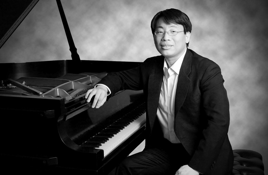 MUSIC THERAPY Pianist Chih-Long Hu joins Orchestra Novo on Oct. 29, for the Co-Creation Project II, which mixes music and art created by Alzheimer's patients, at the Cuesta College CPAC. - PHOTO COURTESY OF CHIH-LONG HU