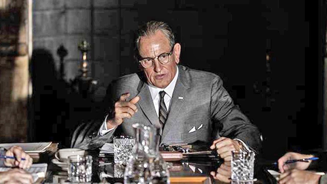 BECOMING PRESIDENT Thanks to an assassin's bullet, Lyndon Baines Johnson (Woody Harrelson) became president and pushed through the Civil Rights Act, in LBJ. - PHOTO COURTESY OF CASTLE ROCK ENTERTAINMENT