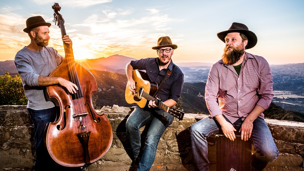 PICKERS Bluegrass and Americana roots artists The Bryan Titus Trio come to Música Del Río in Atascadero on Nov. 10. - PHOTO COURTESY OF THE BRYAN TITUS TRIO