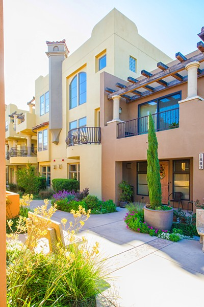 SENIOR APARTMENTS In 2015, People's Self-Help Housing used $100,090 in county inclusionary housing funding to help build 85 affordable housing units, including this 20-unit complex for seniors in Morro Bay. - PHOTO BY JAYSON MELLOM
