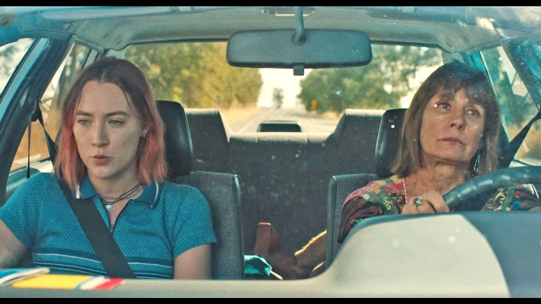LIKE MOTHER In Lady Bird, a teen girl rebels against her mom, in spite of their similarities. - PHOTO COURTESY OF A24