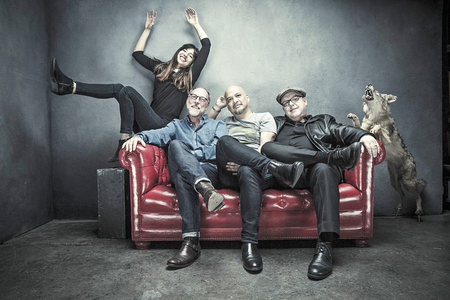 LOUD-QUIET-LOUD! Famed alt-rock act Pixies play Dec. 12, in the Fremont Theater in support of their newest album, Head Carrier. - PHOTO COURTESY OF PIXIES