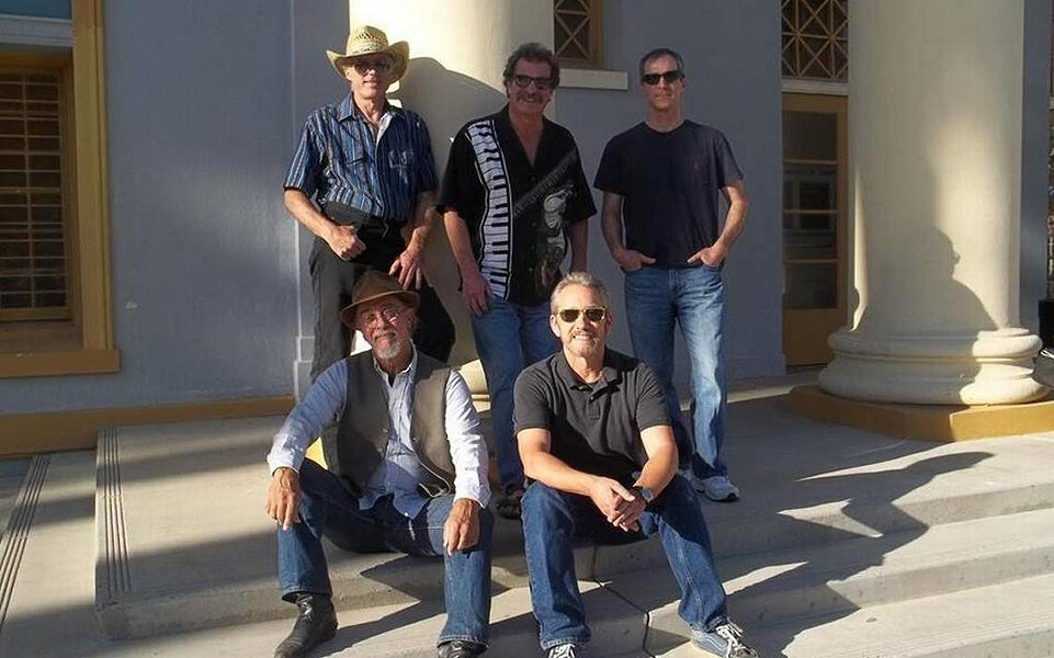 DANCEABLE Glen Delpit and The Subterraneans swoop into The Siren with blues and American Roots on Saturday, Jan. 6. - PHOTO COURTESY OF GLEN DELPIT