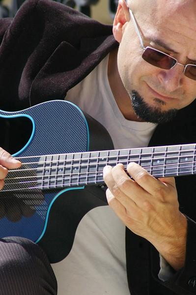 FINGERSTYLE WIZ Nashville-based guitarist Juan John (aka John De Hoyos) plays Last Stage West on Jan. 12, delivering a world-class acoustic performance fusing popular music, guitar virtuosity, and humor. - PHOTO COURTESY OF KEVIN MARRON