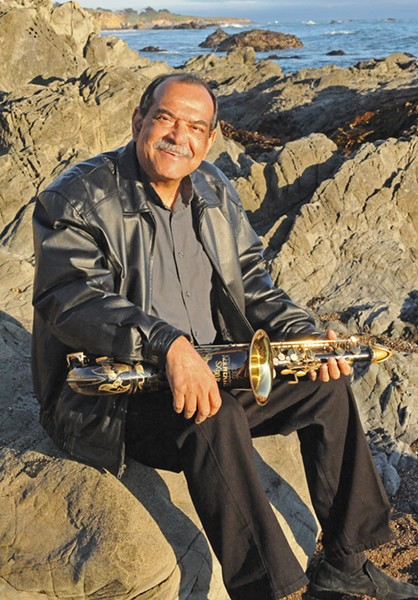 SAX MASTER Two-time Grammy-winning saxophonist Ernie Watts and his quartet play a SLO Jazz Fed show at Unity Concert Hall on Jan. 27. - PHOTO COURTESY OF ERNIE WATTS