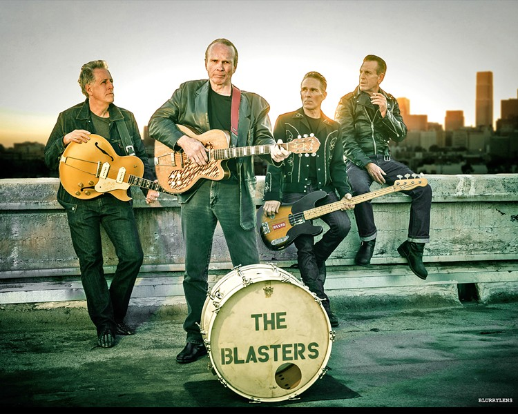 GET 'EM WHILE THEY'RE HOT! The Blasters with Phil Alvin plays The Siren on Feb. 15, and it's going to sell out, so get tickets now if you want to go. - PHOTO COURTESY OF THE BLASTERS