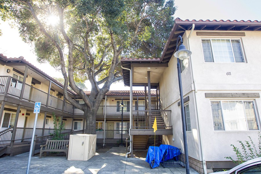 OWNERSHIP DISPUTE The Housing Authority of SLO (HASLO) filed for eminent domain in court on Nov. 30 to take ownership of the Brizzolara Apartments in SLO, a 30-unit affordable housing complex where 97 percent of the tenants have disabilities. - PHOTO BY JAYSON MELLOM