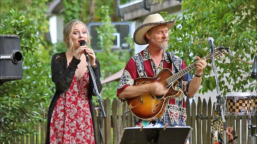 FATHER-DAUGHTER FUN Amazing multi-instrumentalists and vocalists Joe and Hattie Craven will be joined by The Sometimers for two SLOfolks shows, Feb. 9 at Coalesce Bookstore and Feb. 10 at Castoro Cellars. - PHOTO COURTESY OF JOE AND HATTIE CRAVEN