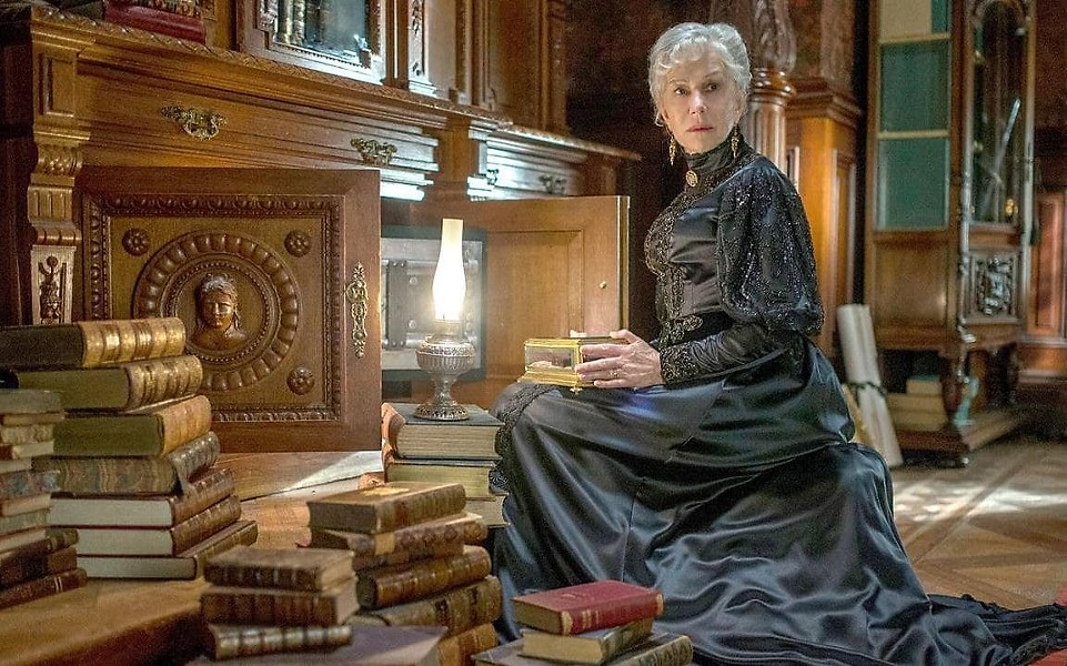 ECCENTRIC OR CURSED? Sarah Winchester (Helen Mirren) believes she's been cursed and is haunted by the ghosts of those killed by the rifle that bears her name. - PHOTOS COURTESY OF BLACKLAB ENTERTAINMENT