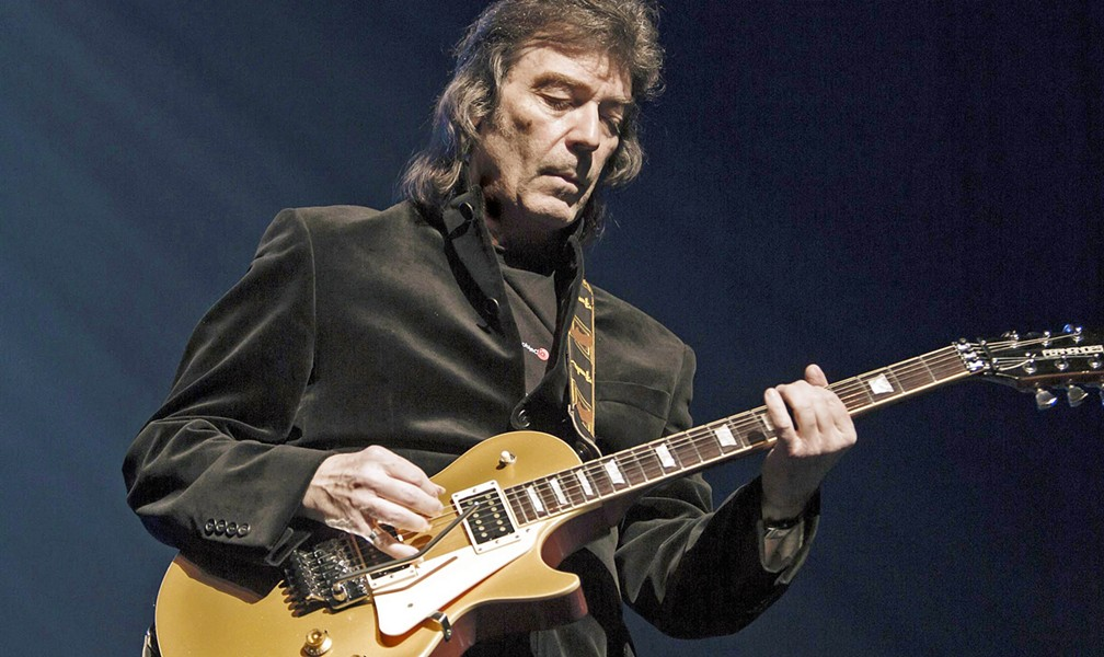 PROG ROCK GUITAR ICON Steve Hackett of Genesis and GTR plays the Fremont Theater, revisiting music from his bands and solo work, on Feb. 23. - PHOTO COURTESY OF STEVE HACKETT