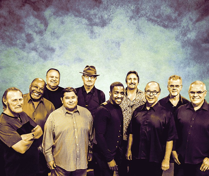 WHAT IS HIP? The legendary Tower of Power plays the Fremont Theater on May 19. - PHOTO COURTESY OF TOWER OF POWER