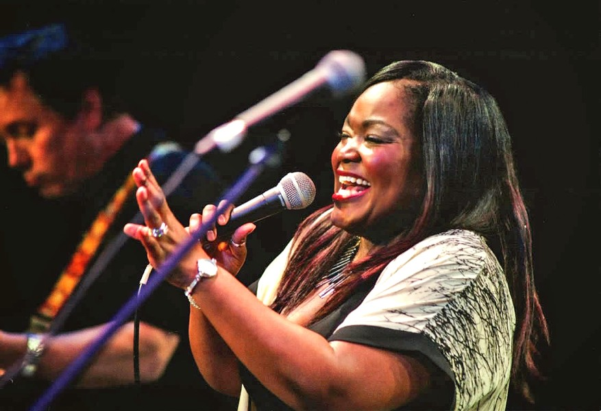 SOUL SISTER Shemekia Copeland (pictured), the Fabulous Thunderbirds, and the Guy Budd Band play the now-free Avila Beach Blues Festival on May 27. - PHOTO COURTESY OF SHEMEKIA COPELAND