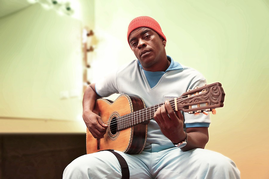 'STARMAN' Seu Jorge, who shot to prominence after the release of the 2004 film The Life Aquatic with Steve Zissou, plays the Fremont Theater on June 25. - PHOTO COURTESY OF SEU JORGE