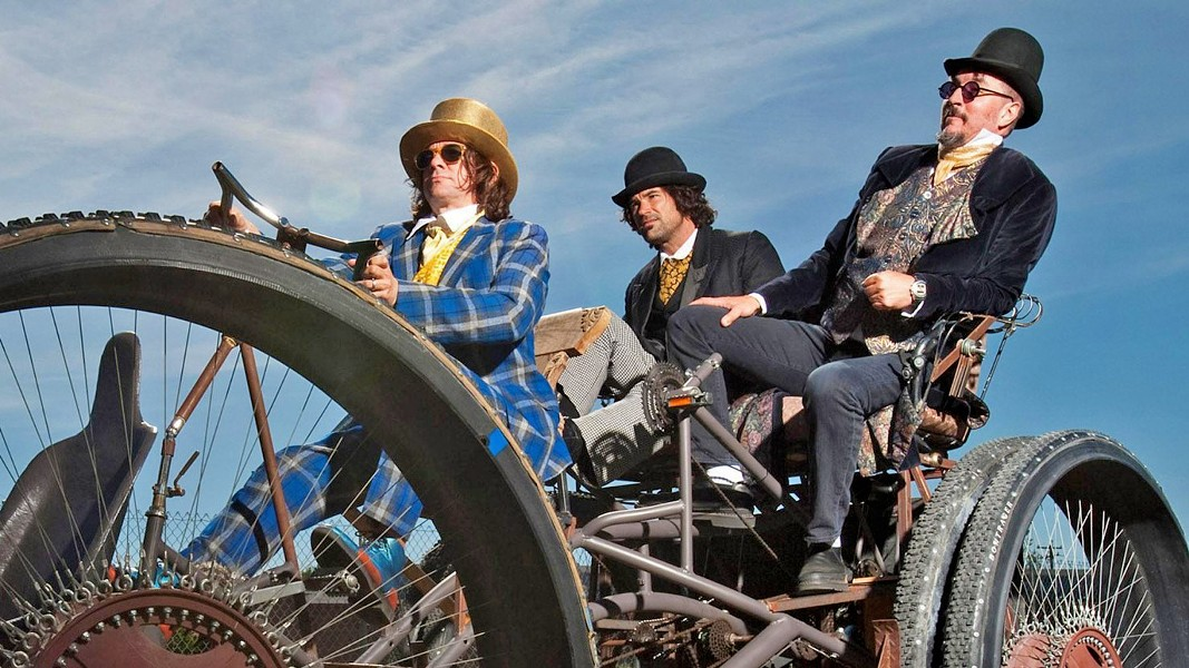 COLONEL CLAYPOOL! Metal acts Primus (pictured) and co-headliner Mastodon play the Avila Beach Golf Resort on June 28. - PHOTO COURTESY OF PRIMUS