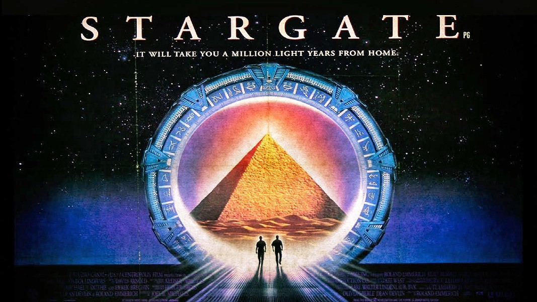 INTERSTELLAR TRAVELS Minus the corny effects and A-list actor lineup, Stargate dips into an Egypt-like world after cracking the code of an ancient gateway. - PHOTO COURTESY OF YOUTUBE