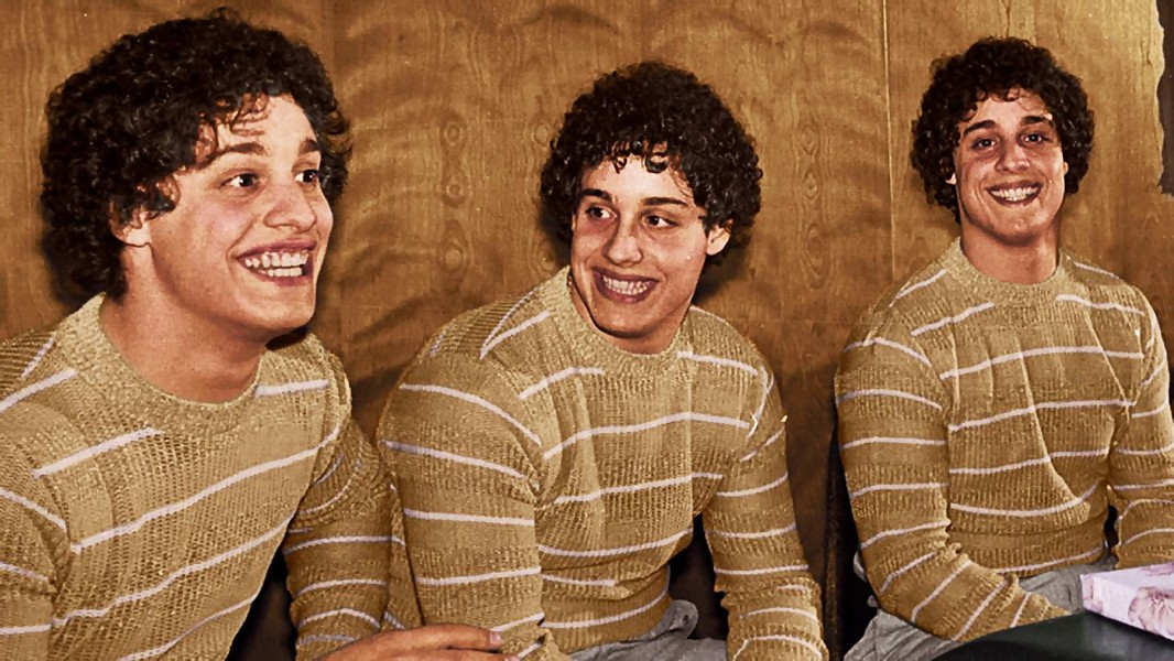SEEING TRIPLE Documentary filmmakers explore the story of triplets who are separated at birth in Three Identical Strangers. - PHOTO COURTESY OF NEON