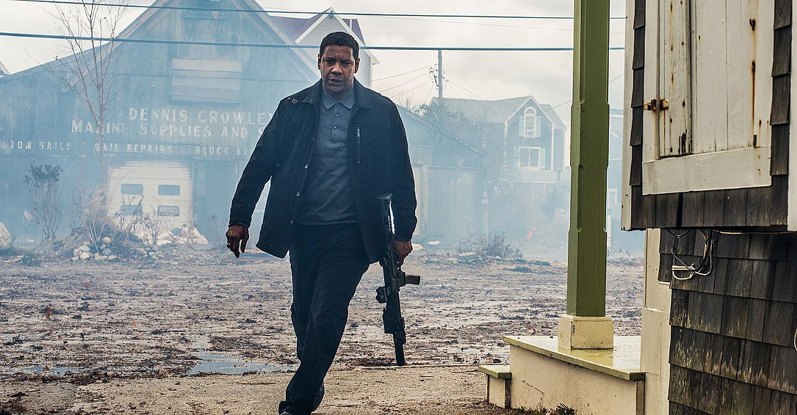 DETERMINED Ex-CIA operative Robert McCall (Denzel Washington) uses his deadly skills to deliver justice for the downtrodden. - PHOTO COURTESY OF FAQUA FILMS