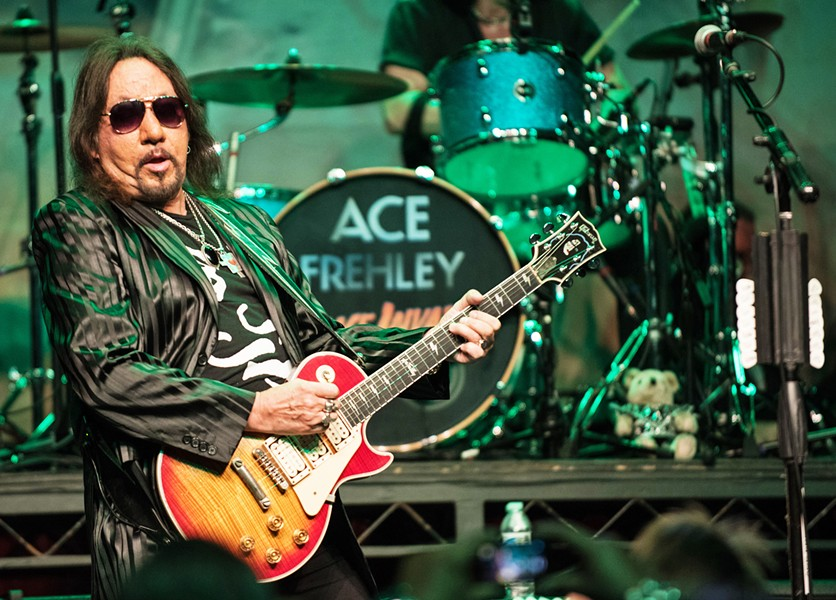 ACE'S WILD! Ace Frehley, founding member of KISS, plays at the Fremont Theater on Aug. 8. - PHOTO COURTESY OF ACE FREHLEY