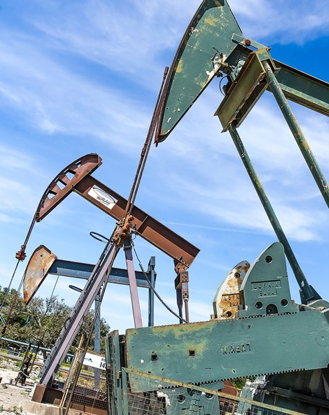 BATTLE OVER OIL The committee to fight Measure G in SLO County received $725,000 in contributions from the oil industry during the first half of 2018, including $500,000 from Sentinel Peaks Resources, owner of the Price Canyon oilfield (pictured).