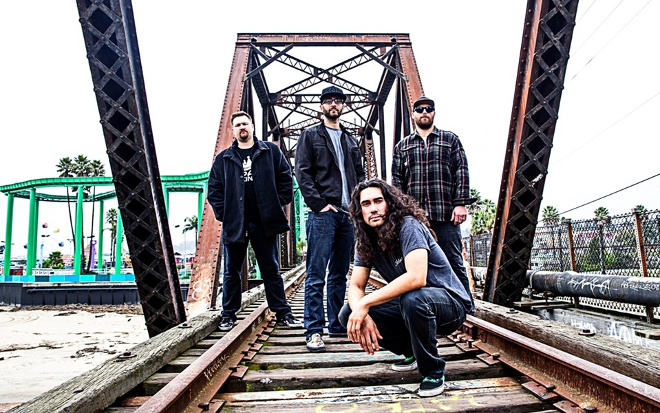 STRAIGHT OUTTA SANTA CRUZ Skate and surf lifestyle band The Expendables play The Siren on Sept. 13. - PHOTO COURTESY OF SLY VEGAS