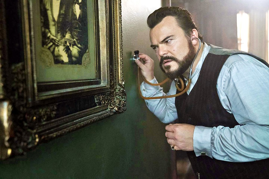 TICK-TOCK Warlock Jonathan Barnavelt (Jack Black) becomes guardian of his orphaned nephew, and together they search for a hidden clock that can destroy the world, in the family-friendly fantasy, The House with a Clock in its Walls. - PHOTO COURTESY OF DREAMWORKS