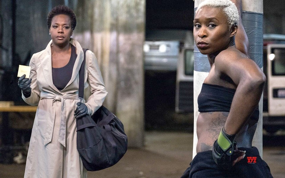 PAYBACK Viola Davis (left) and Cynthia Erivo star in Widows, about a group of women who must team up for a heist to atone for their dead criminal husbands. - PHOTO COURTESY OF TWENTIETH CENTURY FOX