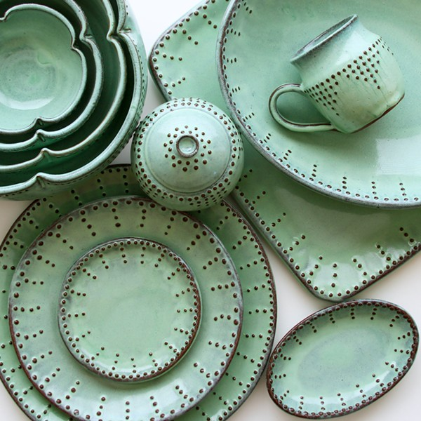 ONE OF A KIND Back Bay Pottery in Los Osos sells handmade products that reflect the natural beauty of the Central Coast. - PHOTO COURTESY OF BACK BAY POTTERY