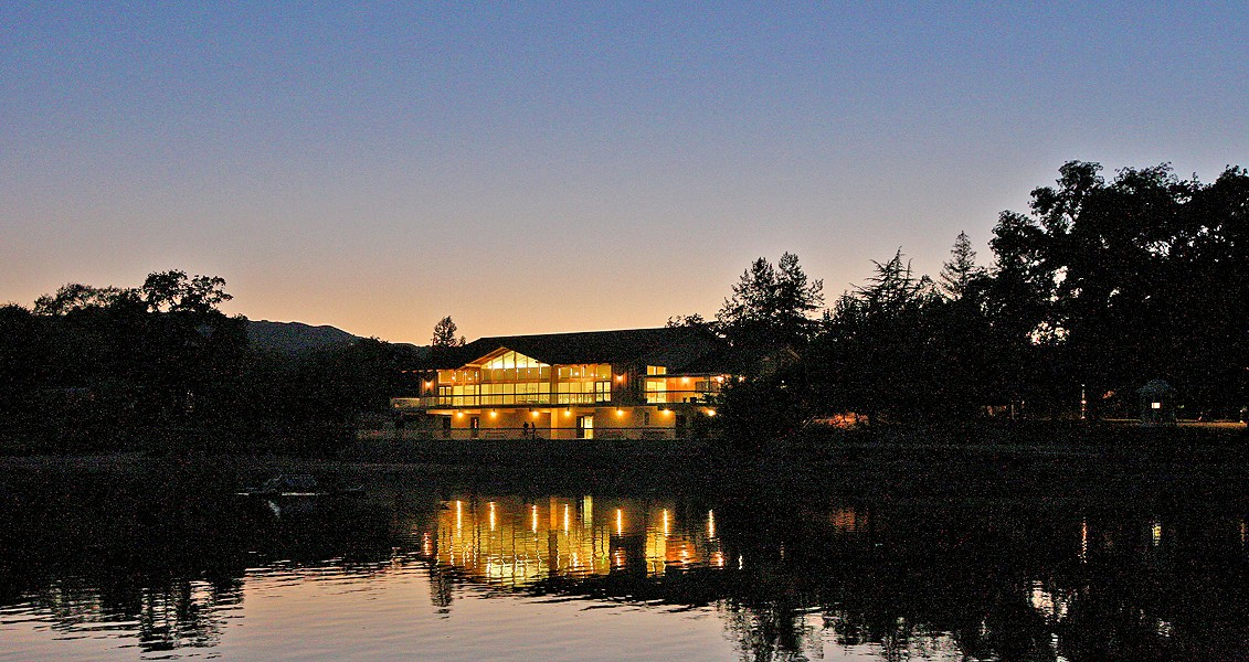 CHARITY JAMS The Bow Ties Bluegrass Band will play a concert at the Atascadero Pavilion on the Lake on Dec. 8. All proceeds from the event will benefit Transitional Food and Shelter, a nonprofit serving the homeless in North County. - PHOTO COURTESY OF PAVILION ON THE LAKE