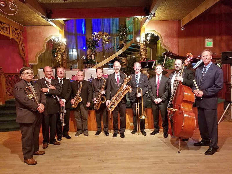 BIG BAND SOUNDS The Starlight Dreamband plays the Pismo Beach Vets Hall on Dec. 16, delivering music perfect for dancing or listening. - PHOTO COURTESY OF THE STARLIGHT DREAMBAND