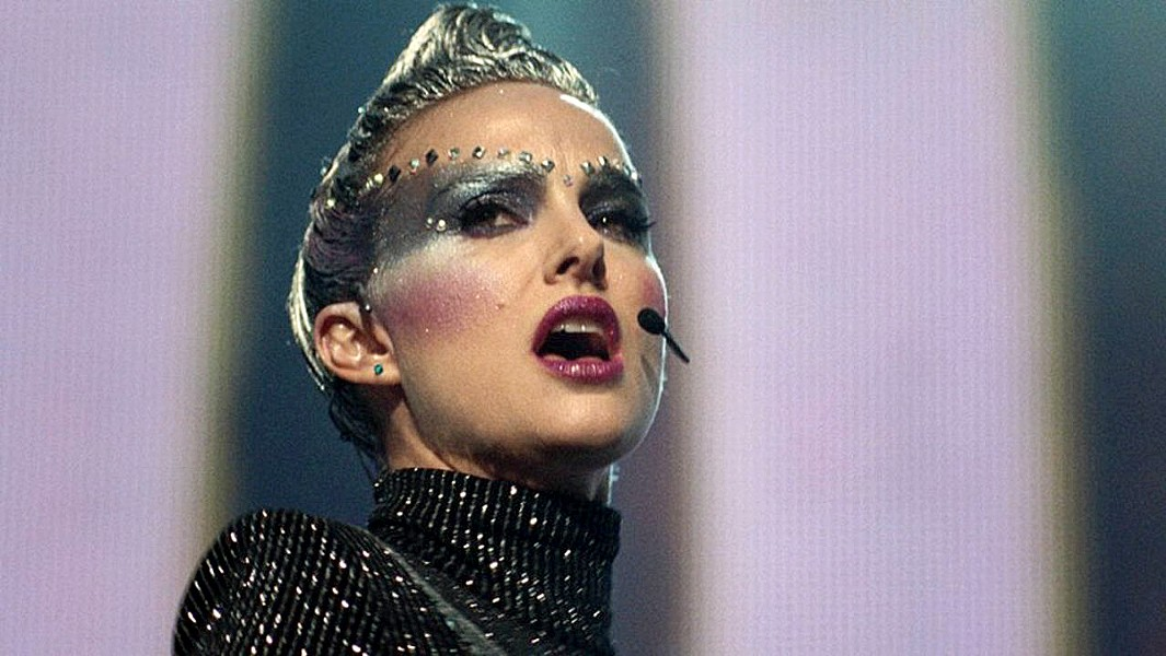 A DIVA IS BORN Natalie Portman star as pop star Celeste, in the drama Vox Lux, which covers 18 tumultuous years of her career. - PHOTO COURTESY OF KILLER FILMS