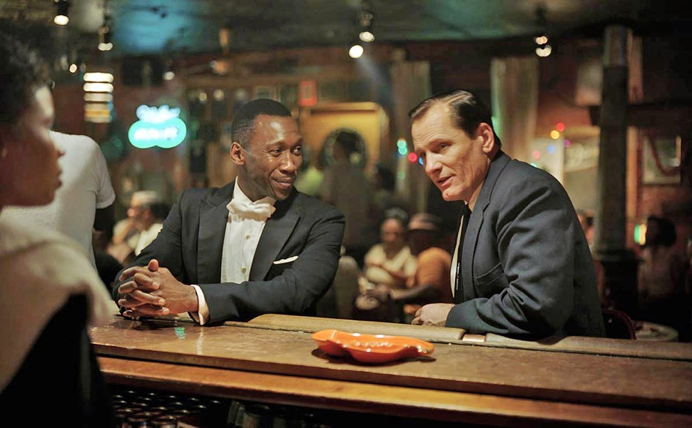 FORMING FRIENDSHIP Virtuoso pianist Don (Mahershala Ali, left) and New York bouncer Tony (Viggo Mortensen) may come from different worlds, but they learn to respect one another. - PHOTO COURTESY OF DREAMWORKS
