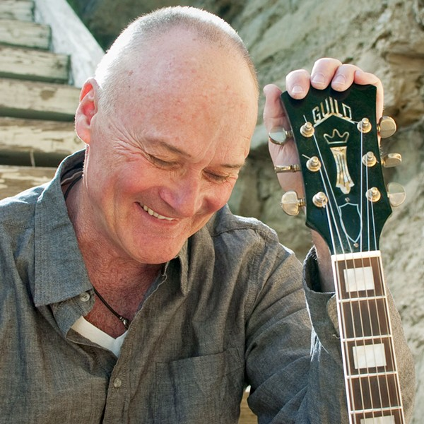 FUN GUY Creed Bratton is so much more than a sitcom character. He hits the Fremont on Thursday, Jan. 10, as part of a tour for his new singer-songwriter album, While the Young Punks Dance. - PHOTO COURTESY OF CREED BRATTON