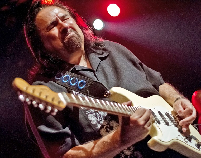 BLUES MAN One of the greats, Coco Montoya will belt it out at The Siren on Saturday, Jan. 5. - PHOTO COURTESY OF COCO MONTOYA