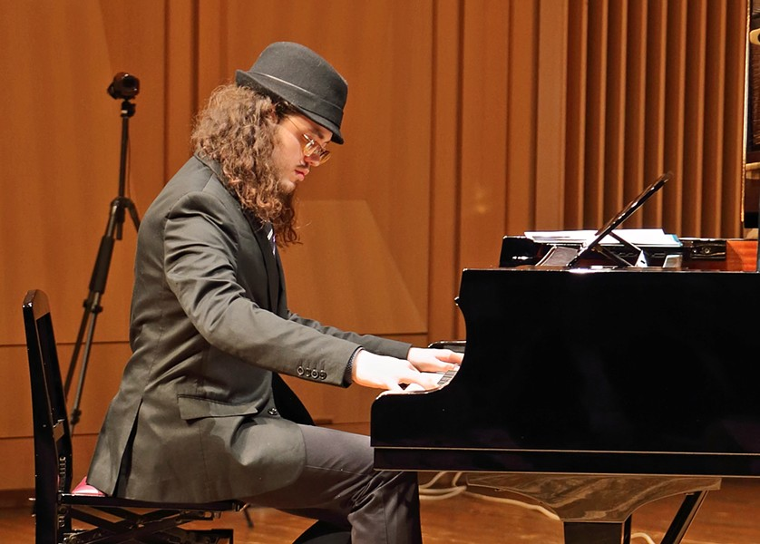 JULLIARD TRAINED The NYC-based Ben Rosenblum Trio plays a SLO Jazz Fed show on Jan. 12, in SLO's Unity Concert Hall. - PHOTO COURTESY OF BEN ROSENBLUM