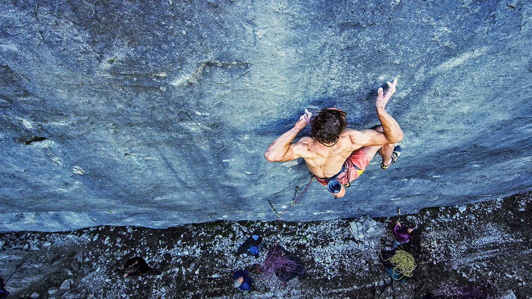 HANG ON Reel Rock 13, a film series featuring last year's most daring climbing films—including Age of Ondra, starring Adam Ondra, the 25-year-old Czech climber—screens on Jan. 19 in the Fremont Theater. - PHOTO COURTESY OF BIG UP PRODUCTIONS