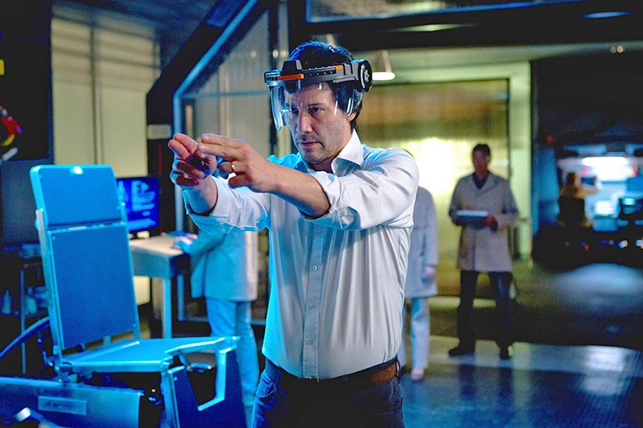 DEAD ON ARRIVAL Keanu Reeves stars as a synthetic biologist determined to clone his dead family members in Replicas, a sci-fi fiasco. - PHOTO COURTESY OF RIVERSTONE PICTURES