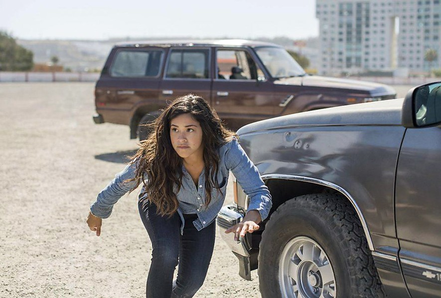 MISS BULLET Miss Bala, based on the 2011 Mexican action film, stars Gina Rodriguez as Gloria, an American caught between a drug cartel and the DEA. - PHOTO COURTESY OF SONY PICTURES ENTERTAINMENT