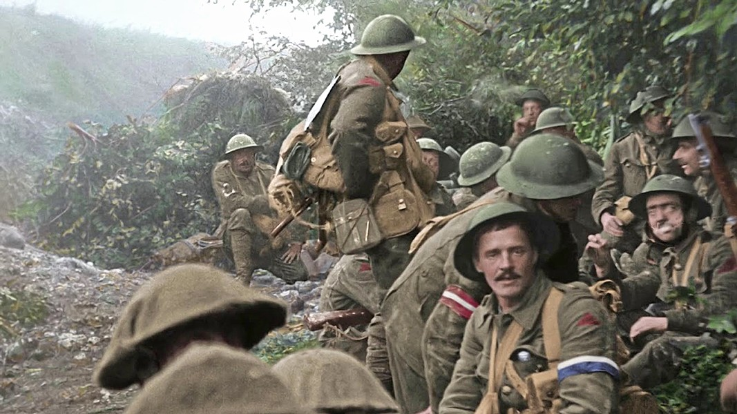 CENTENNIAL Peter Jackson directs They Shall Not Grow Old, a documentary about World War I, with formerly black and white archival footage colorized, to commemorate the 100-year-old end to the Great War. - PHOTO COURTESY OF HOUSE PRODUCTIONS